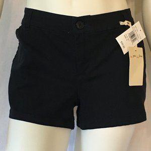 Women's Navy Blue Bebop Shorts Size 9